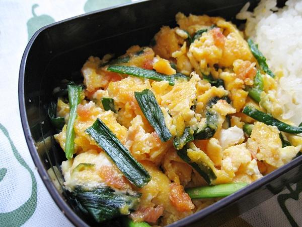 明太子韭菜炒蛋