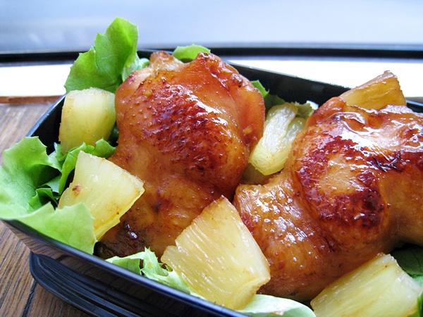 蜜汁鳳梨燒雞