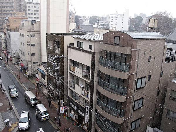2012年的東京初雪