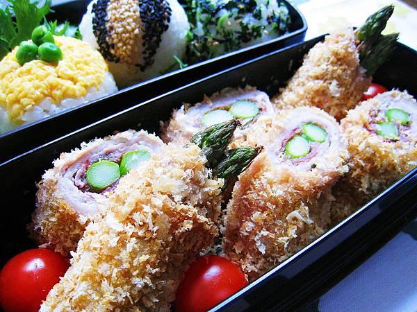 梅紫蘇蘆筍肉捲