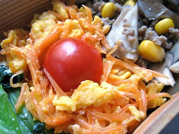胡蘿蔔炒嫩蛋