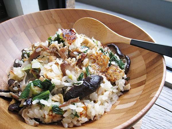 香菇雞肉菜飯