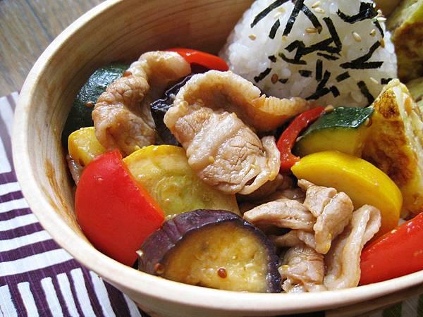 夏季鮮蔬炒肉片