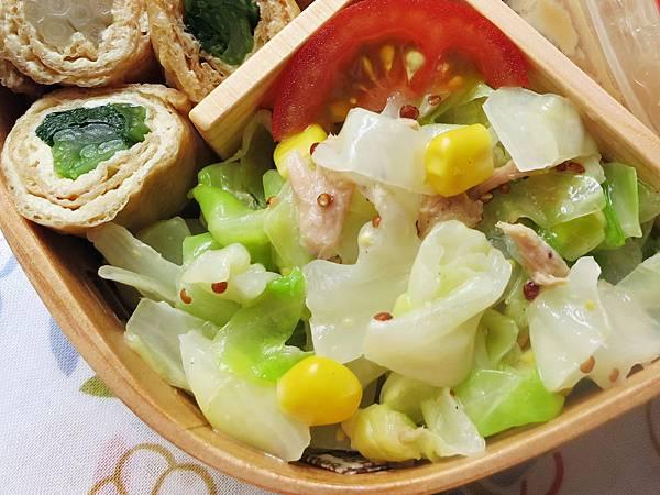 鮪魚玉米拌高麗菜