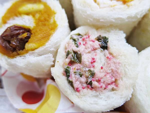 明太子高菜鮪魚三明治捲