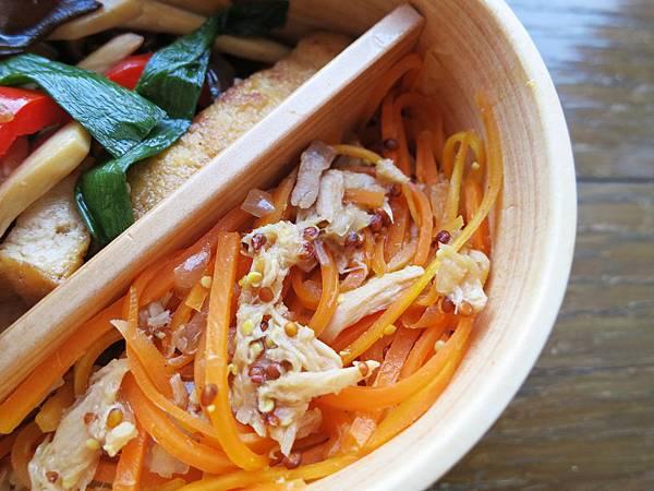 胡蘿蔔鮪魚沙拉