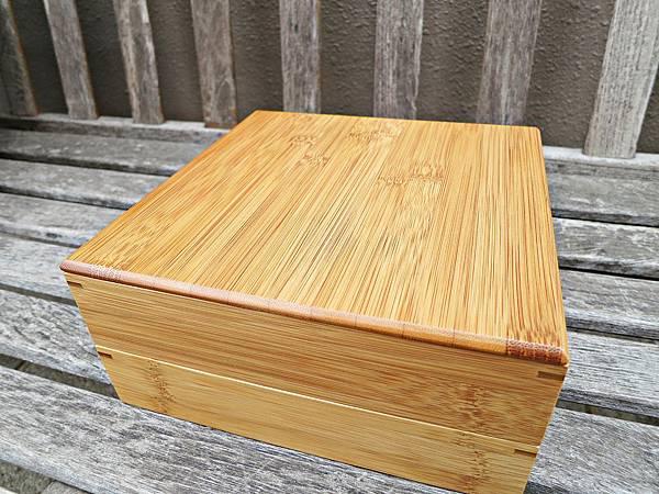 天然竹三段重箱