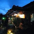 餐廳的夜景氣氛十足