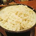 定食附的超大碗麥飯,非常可口