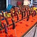 日本的祭典小吃攤好像很流行這種巧克力香蕉