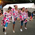 元氣祭的舞蹈不只傳統日本舞,連大腿舞都上場