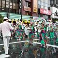 這是日本最大型的森巴舞蹈盛典,約有五千名舞者參加演出