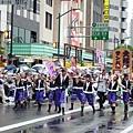 雖然是森巴舞嘉年華,仍偶有日本舞穿插其中