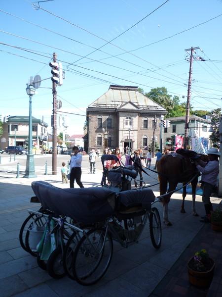界町通是小樽的主要觀光商業區