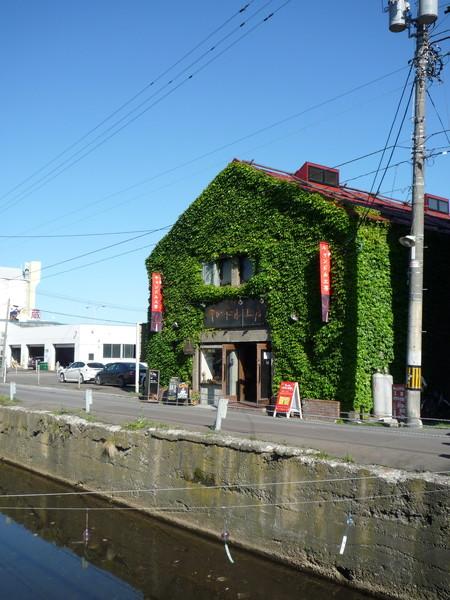 這棟長滿藤蔓的建築很可愛