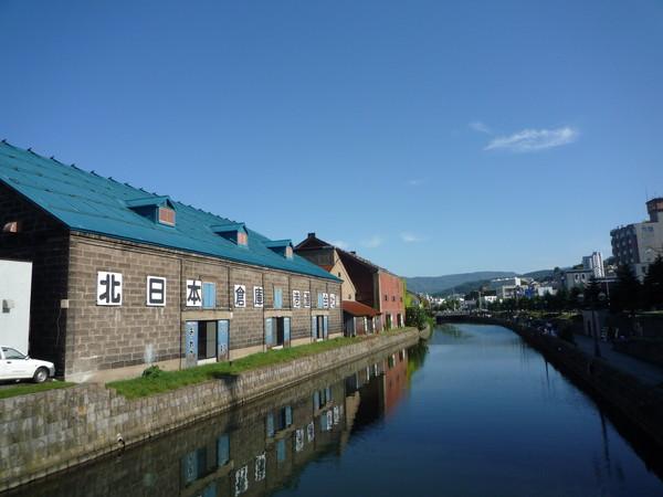 小樽運河美得不可思議