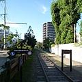 據說手宮線是北海道最早的鐵路,這段舊鐵軌應該算古蹟吧