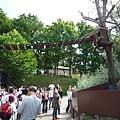 旭山動物園希望拉近人與動物間的距離,很多動物都不用柵欄籠子隔離