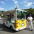 超可愛的老虎造型遊園車