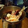 我對蒂王蟹沒有特別狂熱,所以蟹腳幾乎都是大白吃的