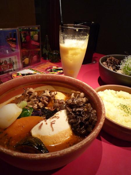 札幌北海道大學附近的「Picante」湯咖哩