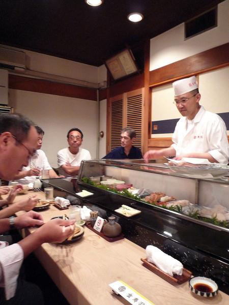 札幌「金壽司」握壽司