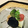漬物:小黃瓜、白菜、酸梅、昆布