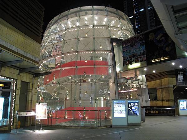 森美術館和TOKYO CITY VIEW展望台的入口