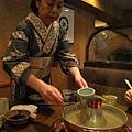 最後還用涮涮鍋湯頭煮烏龍湯