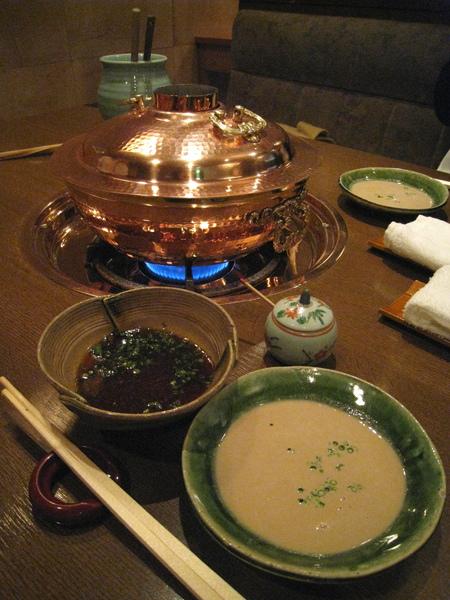 閃亮亮的銅鍋,我和之之一致認為這鍋子應該不便宜