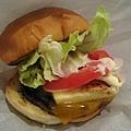 Special Cheese Burger,裡面真的夾著好大一塊起司!
