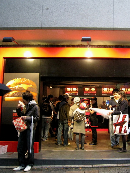 Quarter Pounder標榜的是高級漢堡,Premium Burger