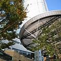 站在LV門口仰望六本木之丘森大樓