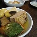 紫蘇天婦羅口味很特別,燒豆腐我也很愛
