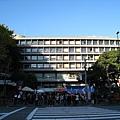 大白提議順路去逛逛慶應大學的學園祭