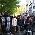 大白說東京最有名且最具規模的學園祭是早稻田大學辦的,可惜今年錯過了