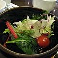 附餐的生菜沙拉