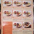 午間套餐菜單:週一到六的午間套餐在800~1980円間,平均約1000円
