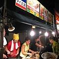 納涼祭第三天晚上,先殺到異國美食區的泰國攤位