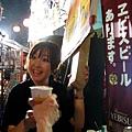 大白買了一杯解渴,可惜沒有平常在便利商店買的罐裝Yebisu好喝