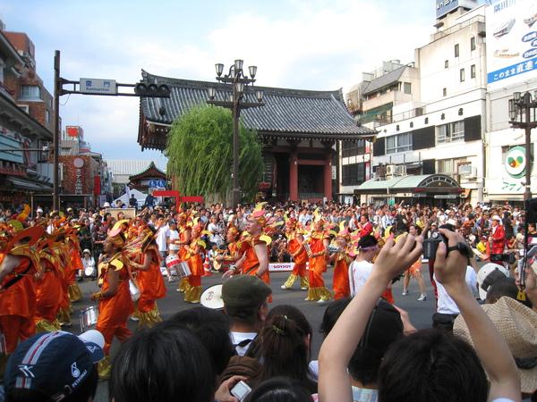 今年的森巴舞祭是8/29週六下午1:30到5:30點