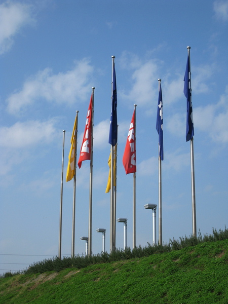 晴朗無風的秋日,等不到IKEA旗幟飛揚的畫面