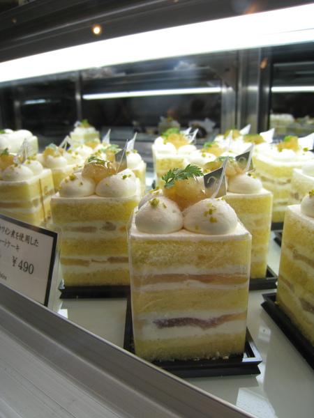 洋梨蛋糕特寫