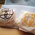 超邪惡的周日早餐:八天堂的奶油麵包,左邊是Custard口味,右邊是鮮奶油口味