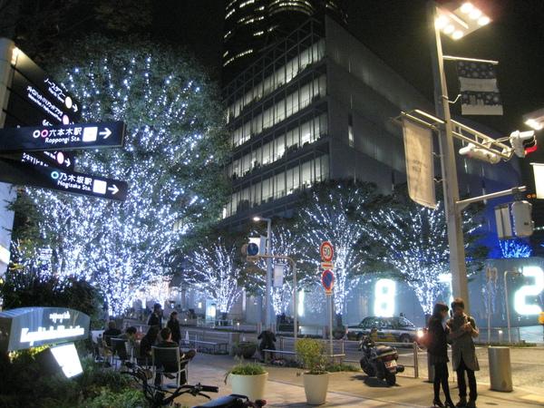 TSUTAYA TOKYO ROPPONGI書店前