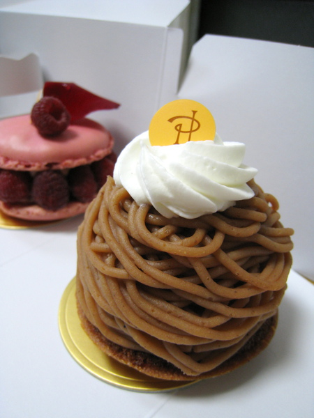 Mont-blanc à ma façon,735円。大白說表現普通,他還是比較喜歡Toshi Yoroizuka的蒙布朗