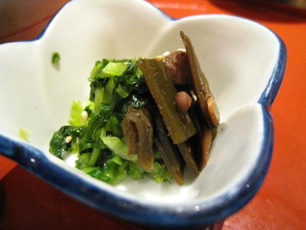 小菜之三:海帶佐野澤菜
