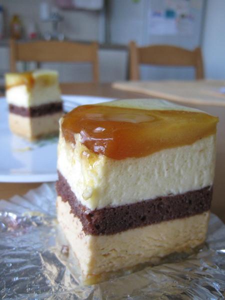 蘋果口味的甜點我向來喜歡,清爽的Pomme d'Eve當早餐吃也不膩口