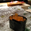 第四貫:鮭魚卵(いくら)軍艦巻