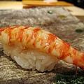 第五貫:車海老(くるまえび)握壽司